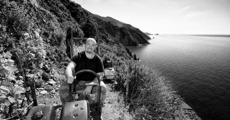Samuele Heydi Bonanini winemaker cinque terre Heroic Viticulture