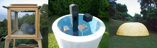Liguria contemporary art garden: La Marrana, Spezia