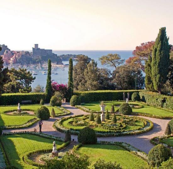 Villa Marigola Garden, Liguria