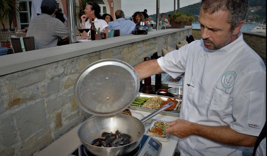 mussels porto venere