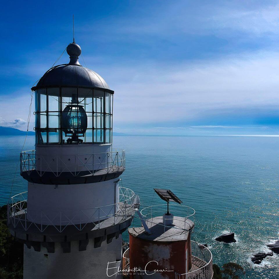 Tino Island Lighthouse by Elisabetta Cesari