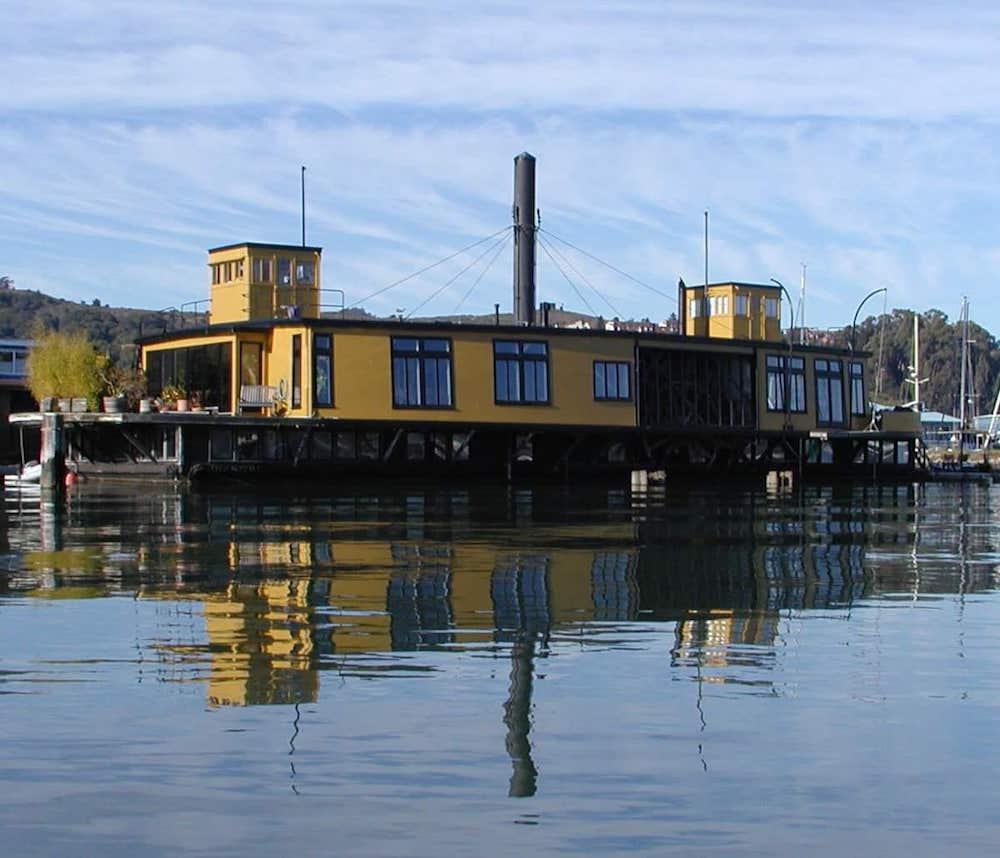 Sausalito Houseboats - Ferryboat Exterior