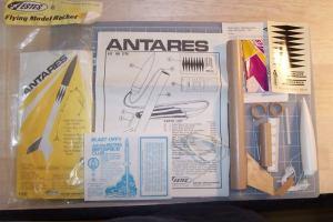 Estes 'Antares' Model Rocket Kit