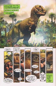 "Ray Bradbury's ""A Sound of Thunder"", illustrated by Richard Corben (Topps Comics) 1993"