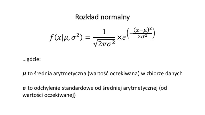 Rozkład normalny 1