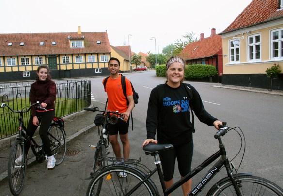 Biking friends