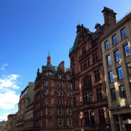 Beautiful buildings in Glasgow