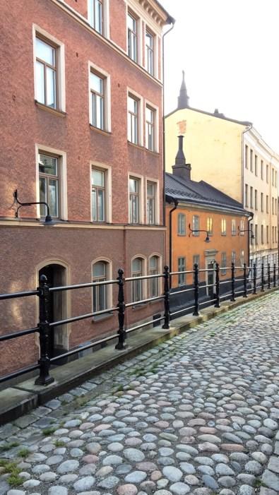 Quiet street in Sodermalm