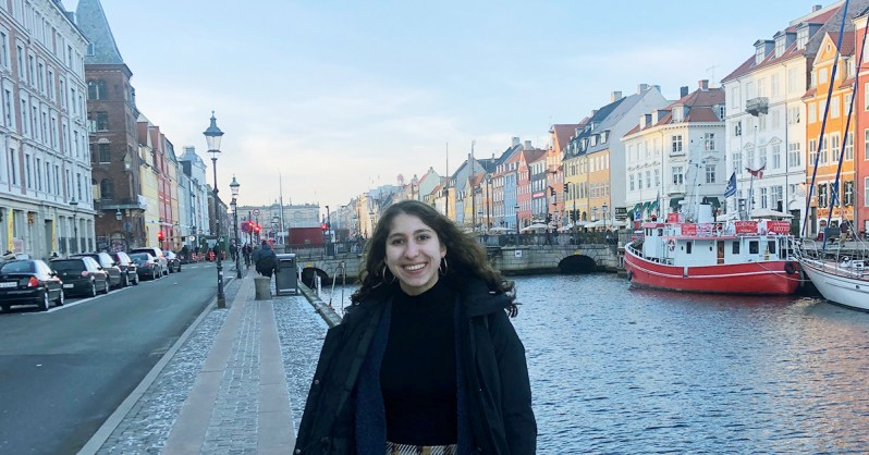 Creating a Sustainable Future Abroad: How Elise Found Global Perspectives in Copenhagen Elise Dadourian Nyhavn