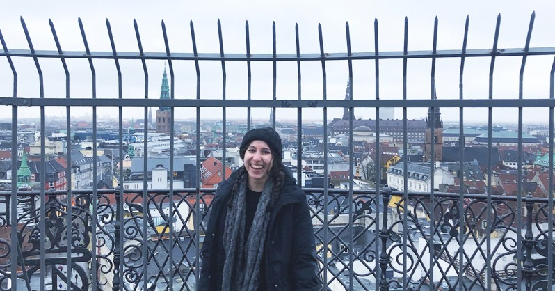 Creating a Sustainable Future Abroad: How Elise Found Global Perspectives in Copenhagen Elise Dadourian Round Tower