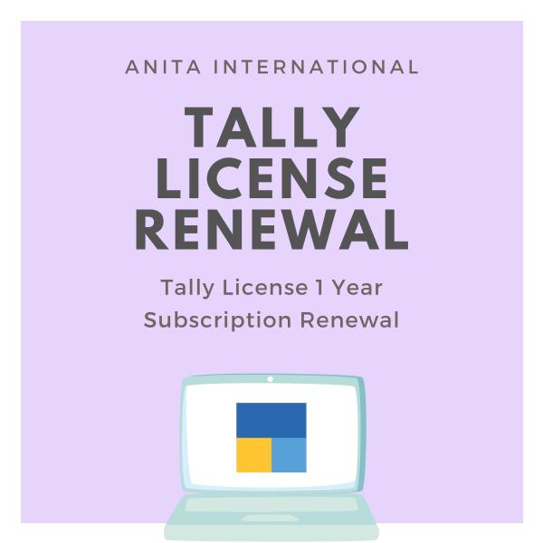Tally Licence Renewal Silver Gold