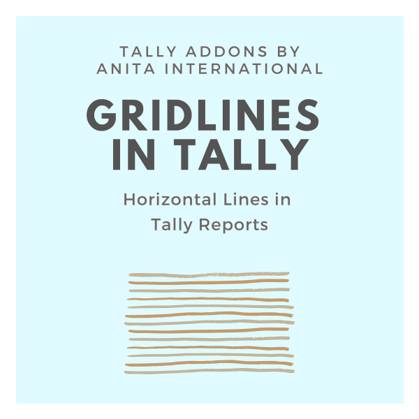 Grid Lines in Tally AddOn