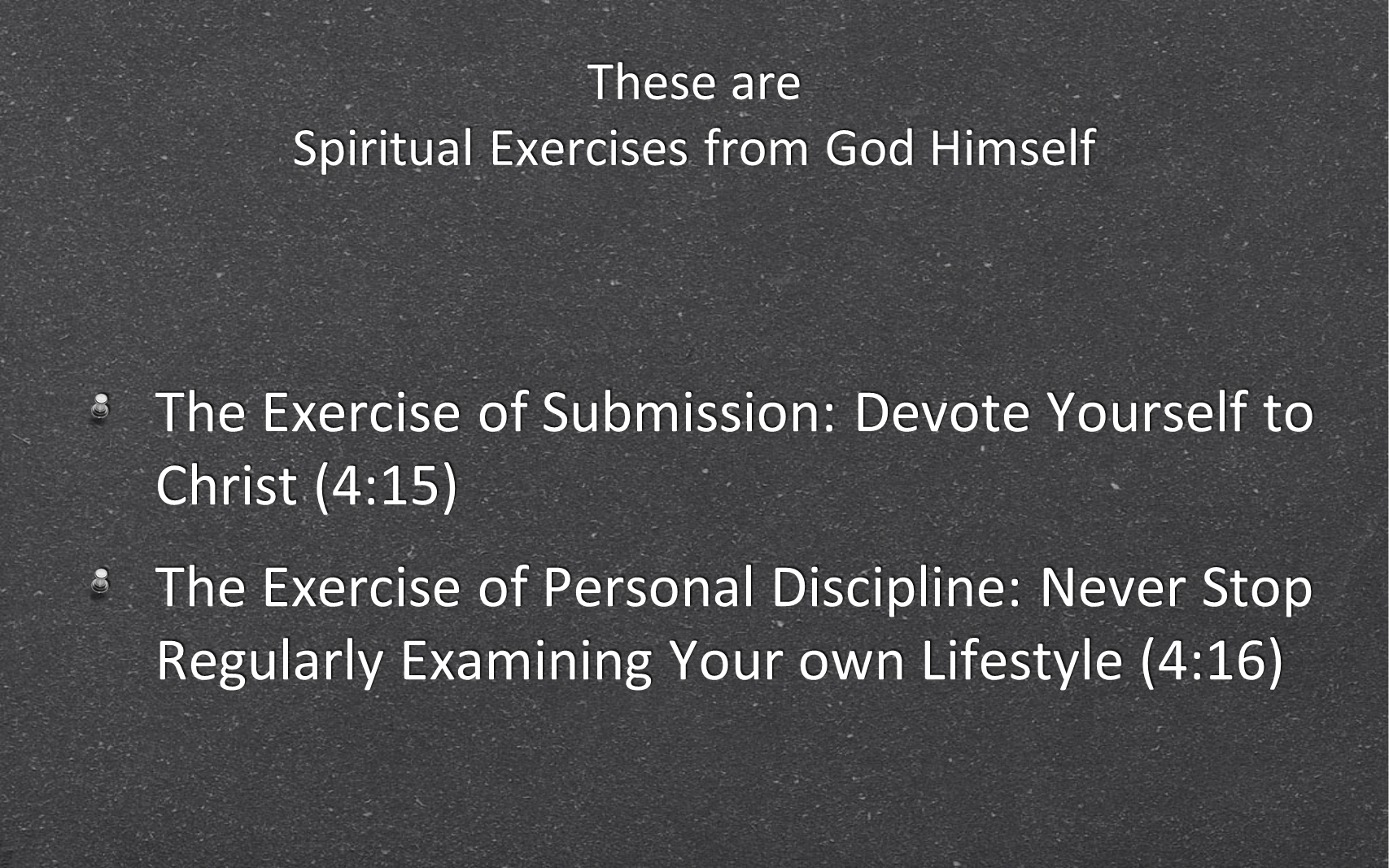 ESH-01 - Biblical Exercises For Spiritual Health & Fitness in 2014 (20)