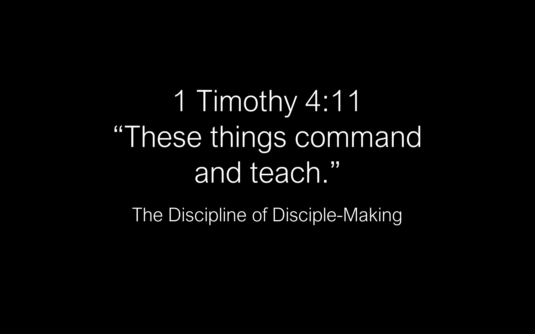 ESH-11 - The Discipline Of Disciple-Making - Disciples - Follow Christ & Make Disciples (21)