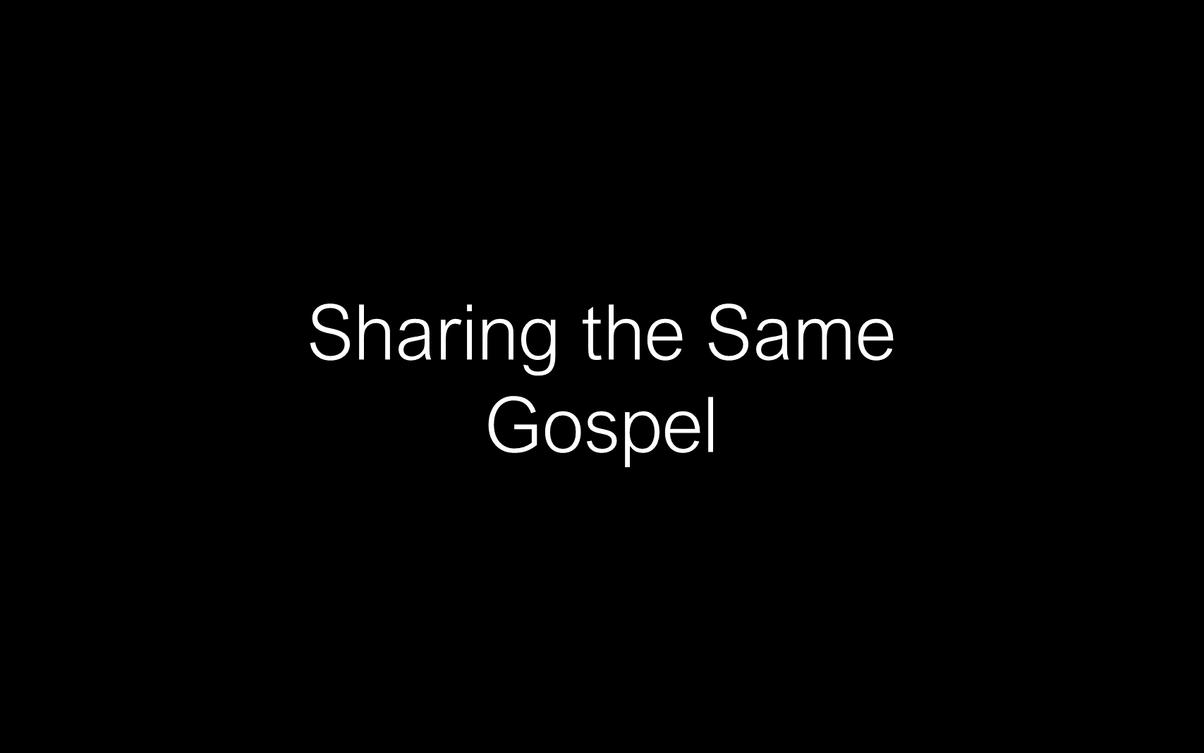 ESH-14 - The Discipline Of Disciple-Making - Sharing The Same Gospel & Mission (7)