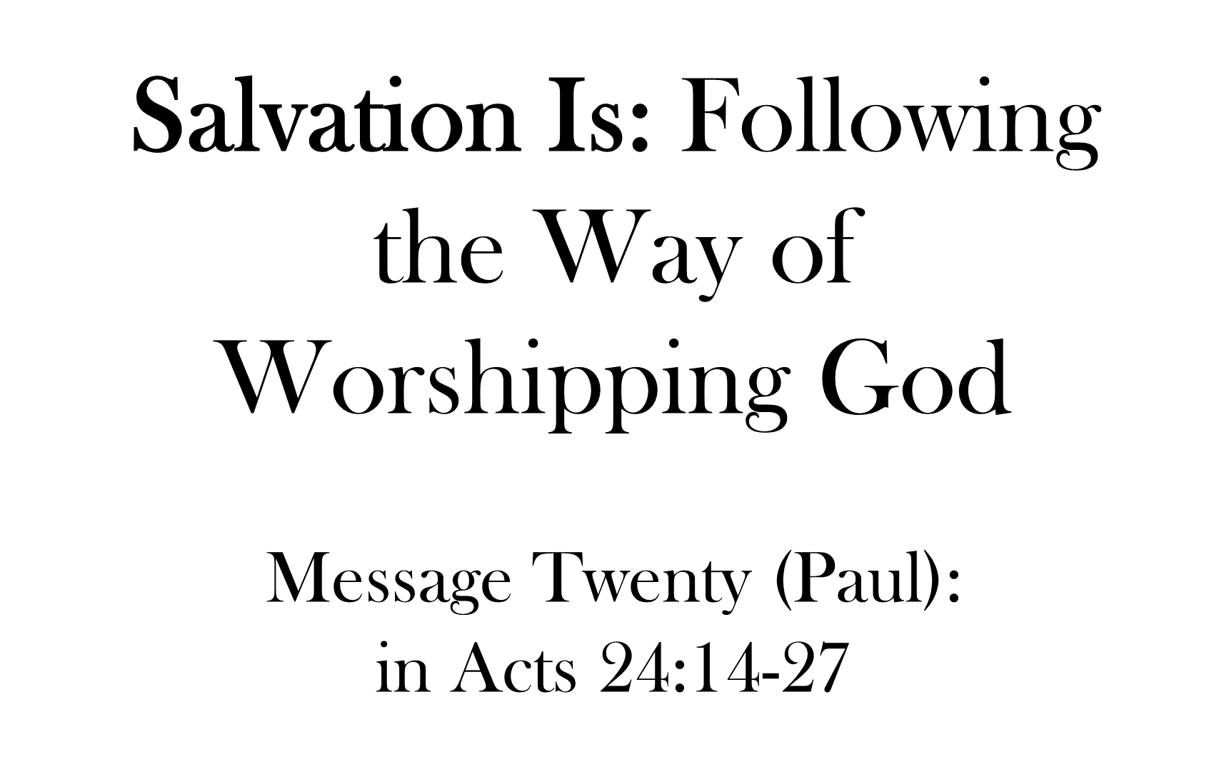 ESH-21 - The Discipline Of Disciple-Making - How Should We Share The Gospel With The Rich, Famous, And Powerful (9)