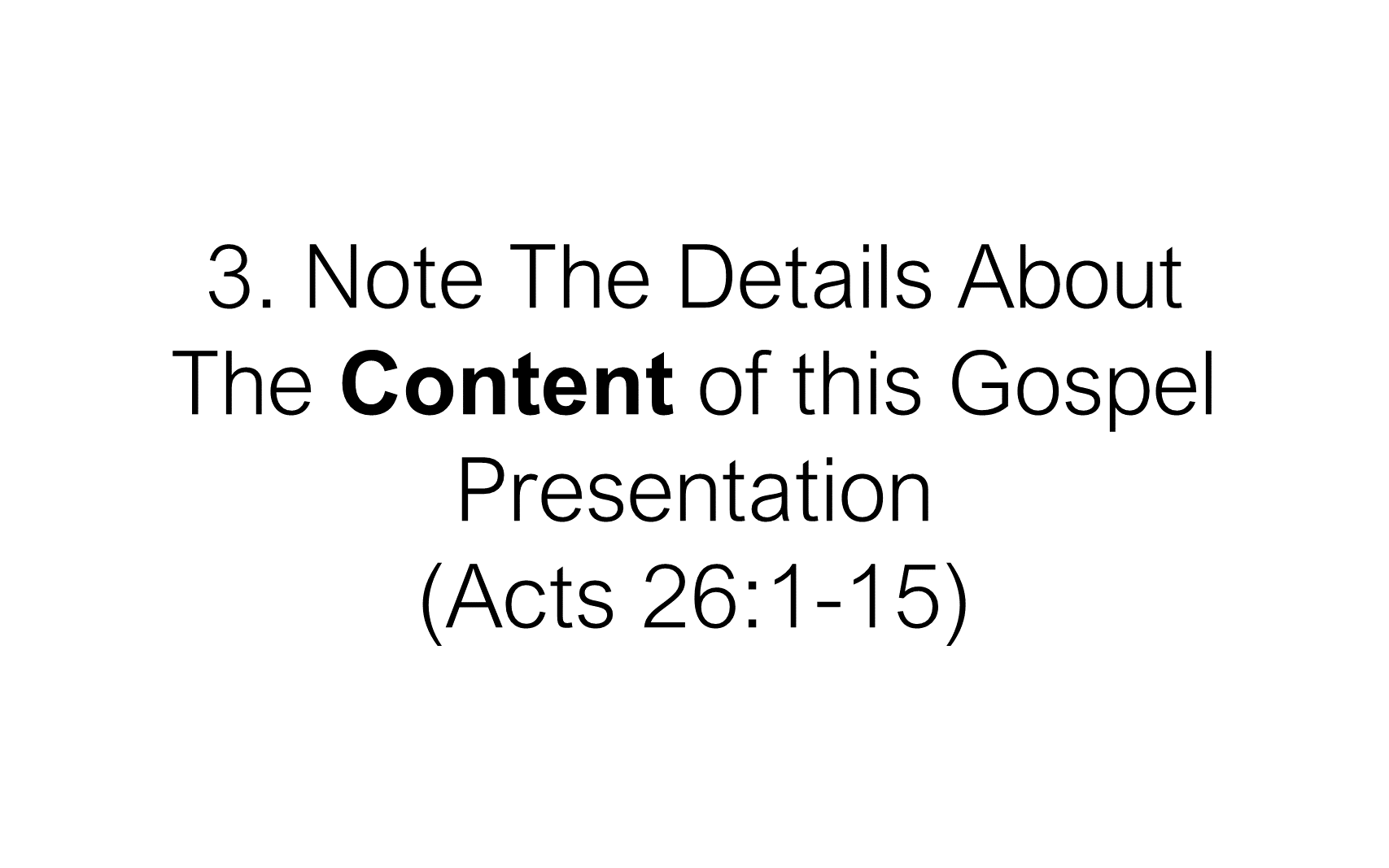 ESH-22 - The Discipline Of Disciple-Making - When Christ Explained The Gospel To Paul (10)