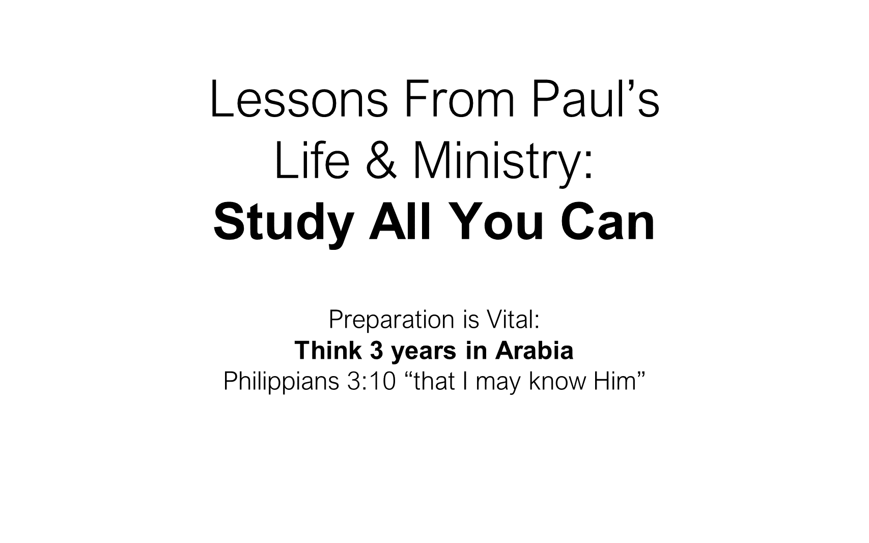 ESH-23 - The Discipline Of Disciple-Making - Paul - Used By God To Change The World (20)