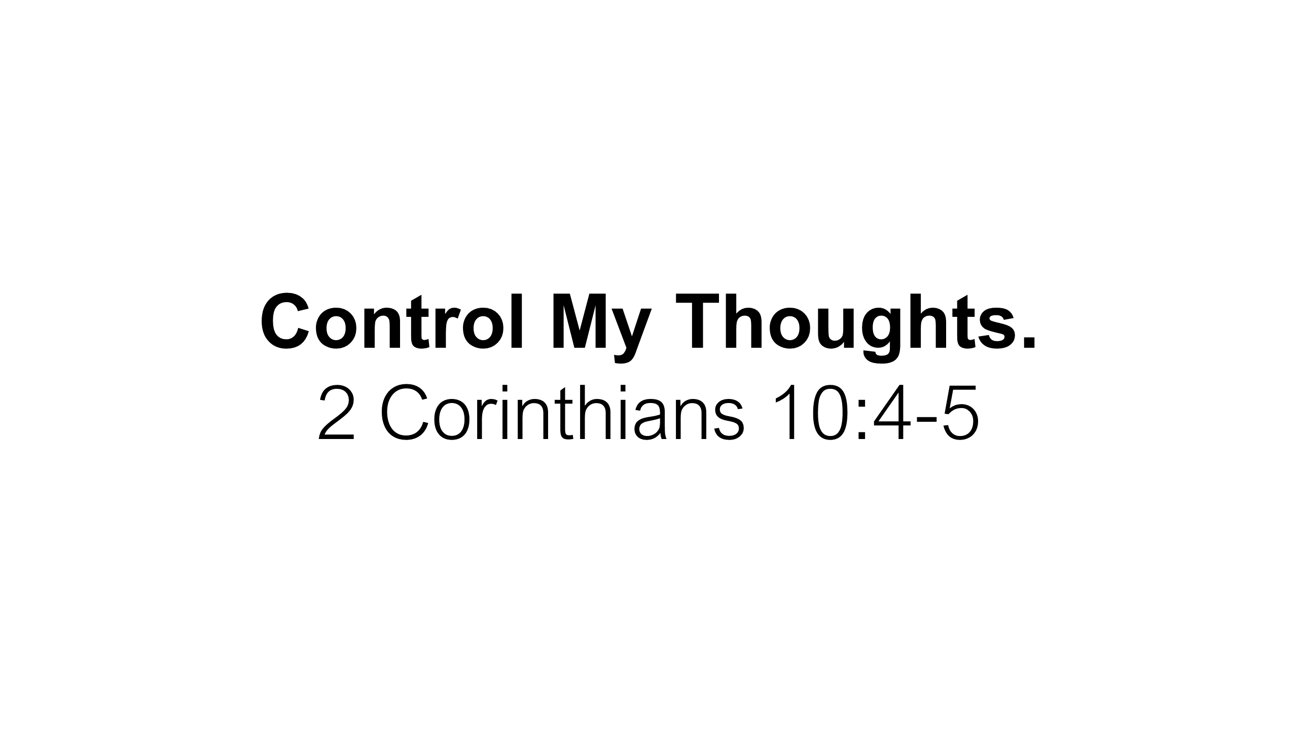 FTF-19 - Control Me - Learning To Seek First The Rule Of God Over My Life Each Day (13)