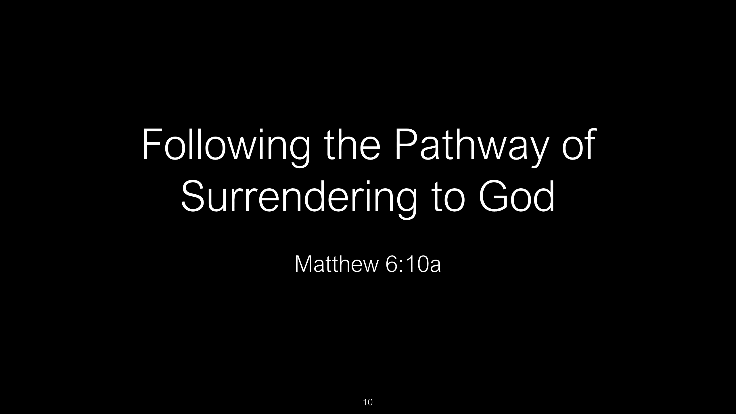 SWS-10 - Following Christ - The Path Jesus Left For Our Safety (10)