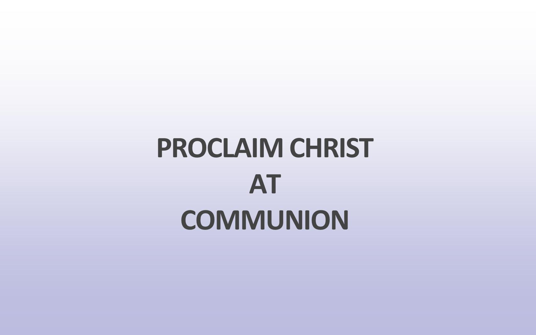 WCC-03 - Proclaiming Christ's Cross Regularly (3)