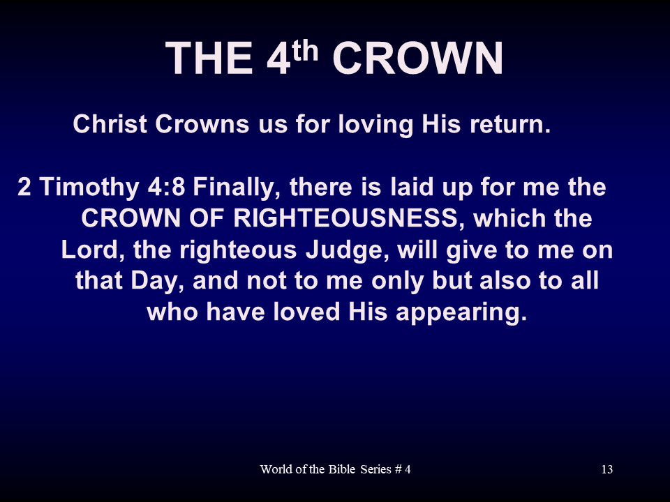 WTB-60 - Eternal Crowns For Believers Illustrated By Paul, Using The Roman World Of The N (13)