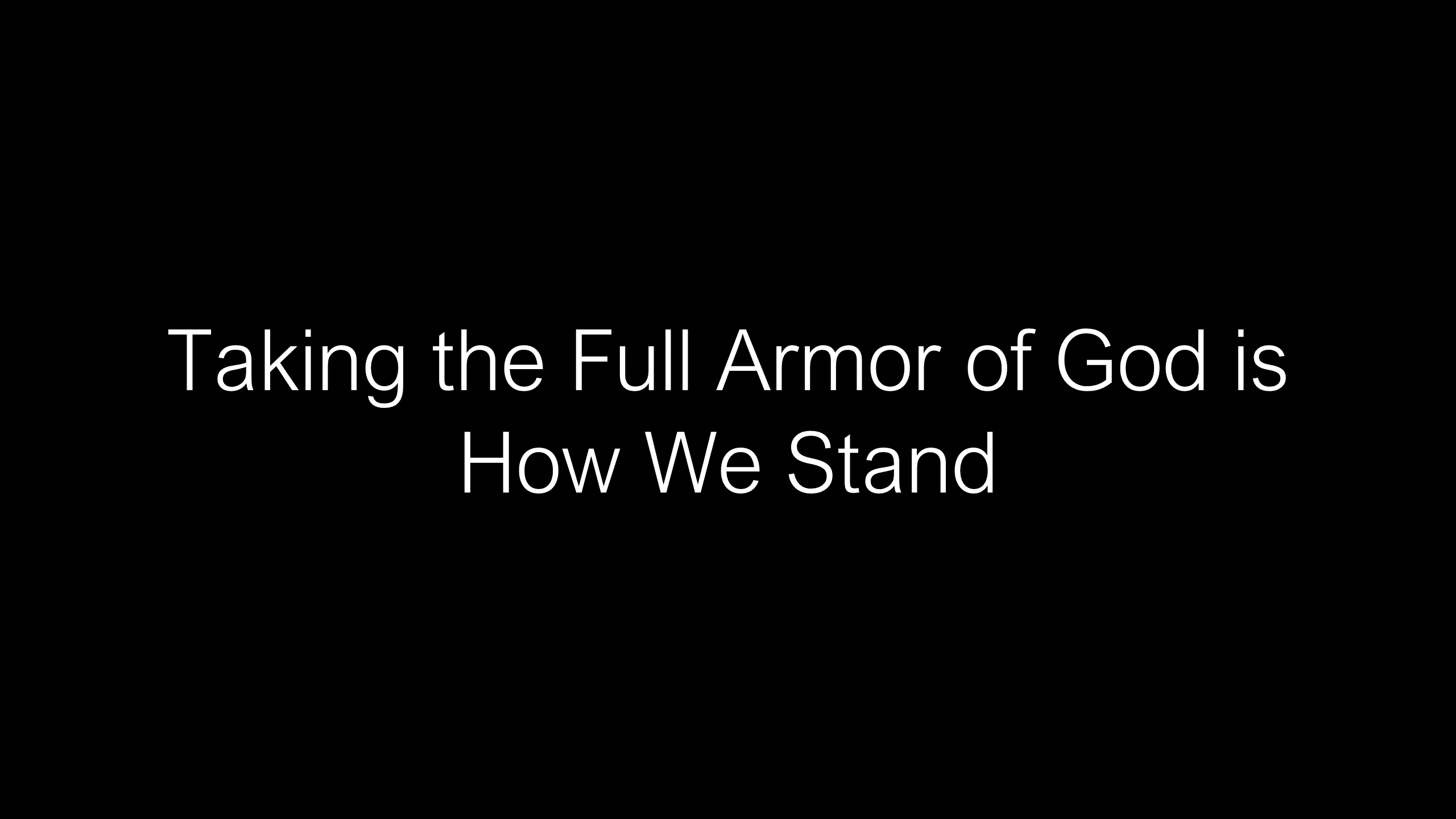 SWS-16 - How God Uses the Full Armor of God to Deliver Us from the Evil One (8)
