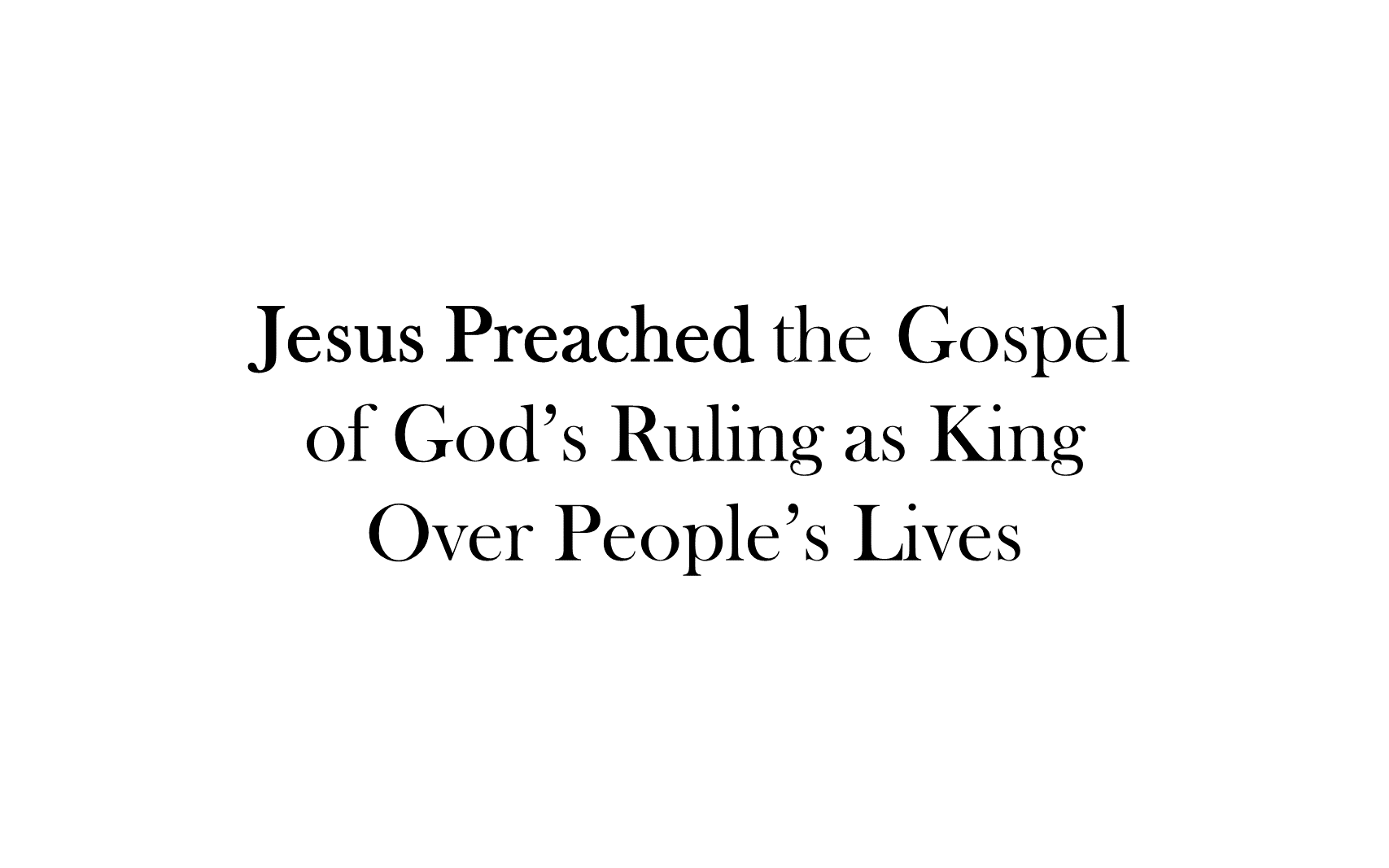 ESH-20 - The Discipline Of Disciple-Making - Seeing, Understanding, Entering, Living, & Seeking The Kingdom Of God ( (11)
