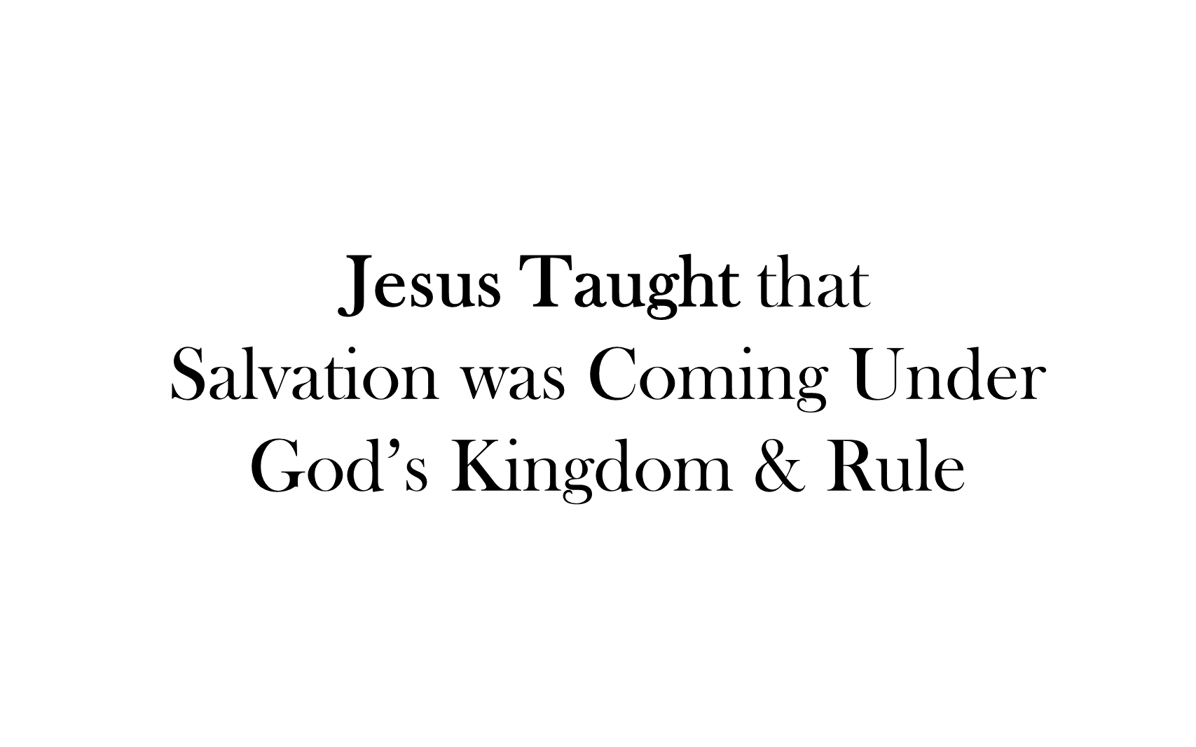 ESH-20 - The Discipline Of Disciple-Making - Seeing, Understanding, Entering, Living, & Seeking The Kingdom Of God ( (4)