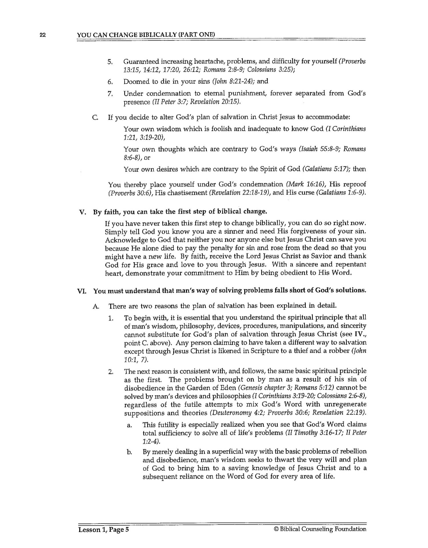 BC&D-02 - Lesson 1 - You Can Change Biblically 1 Work Book Page-06