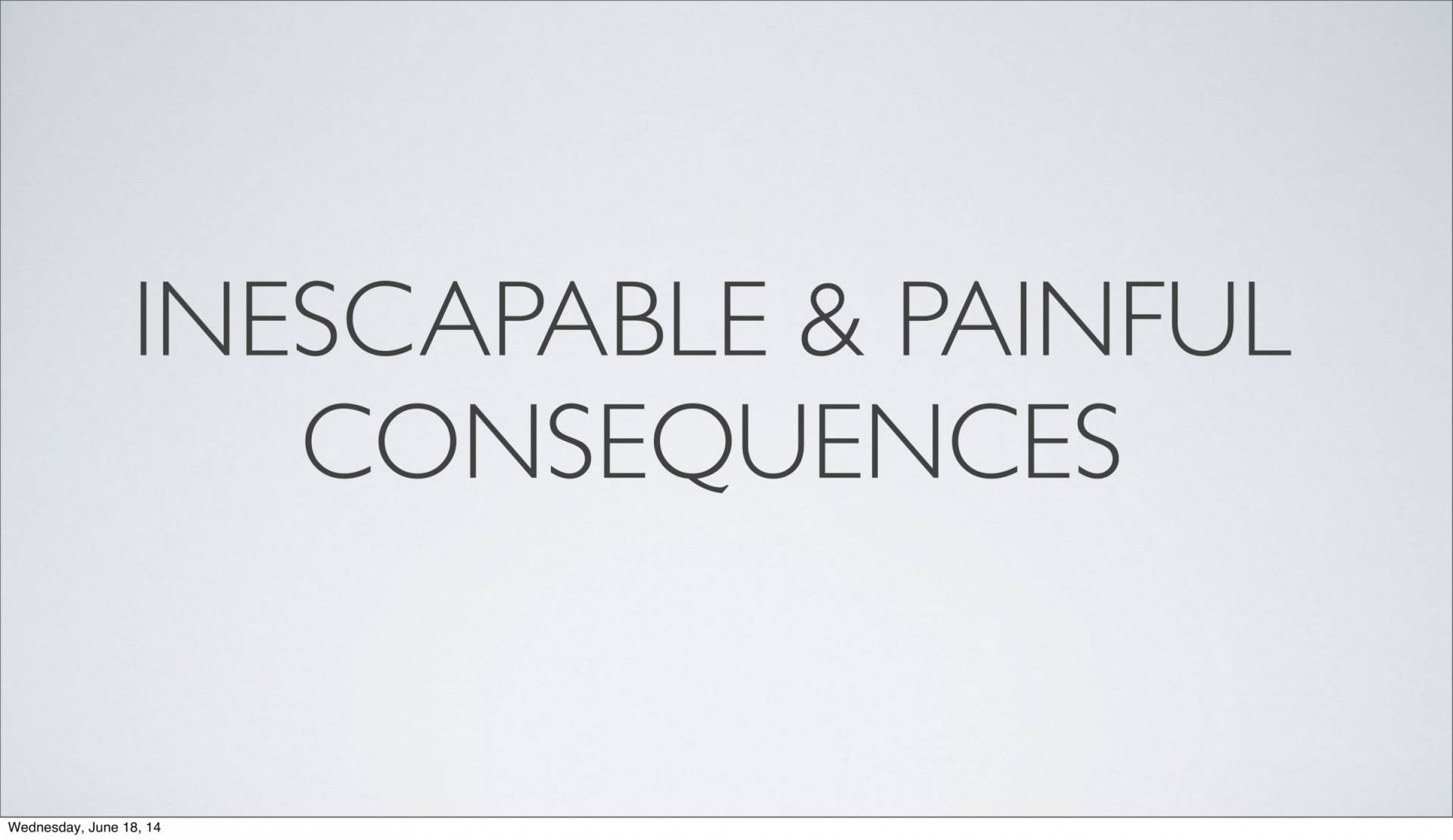 BC&D-14 - Lesson 5-1 - The Inescapable Consequences Of Sin-07