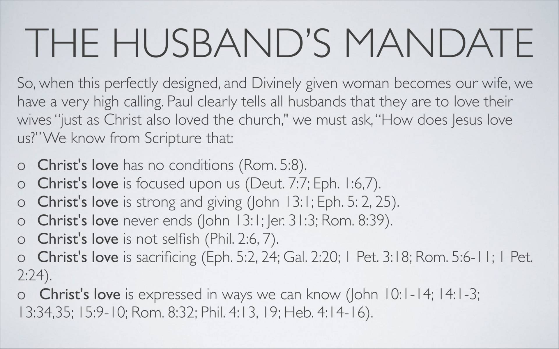 BC&D-37 - Lesson 15-1 - The Marriage Relationship - Husbands-16