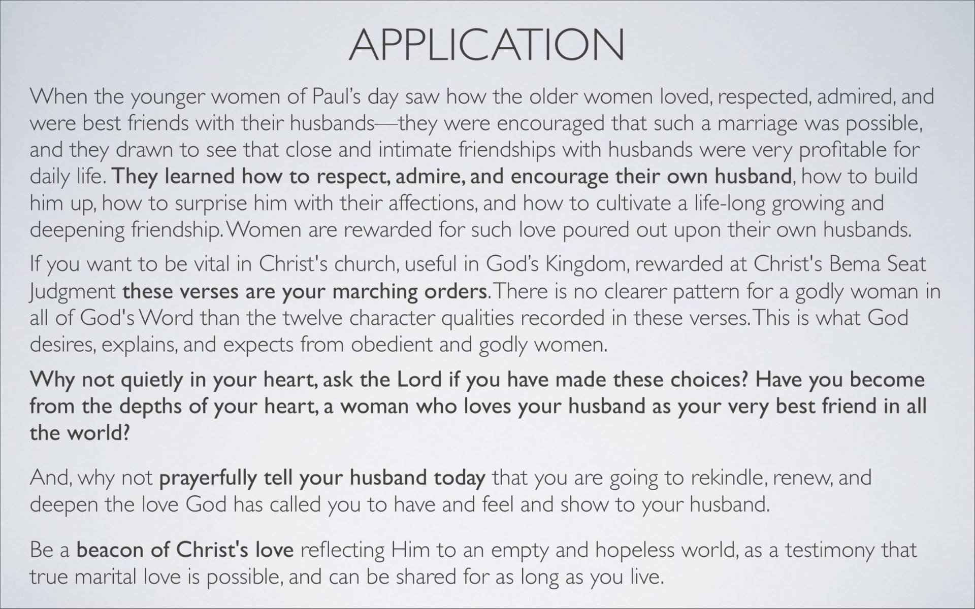 BC&D-38 - Lesson 15-2 - The Marriage Relationship - Wives-28