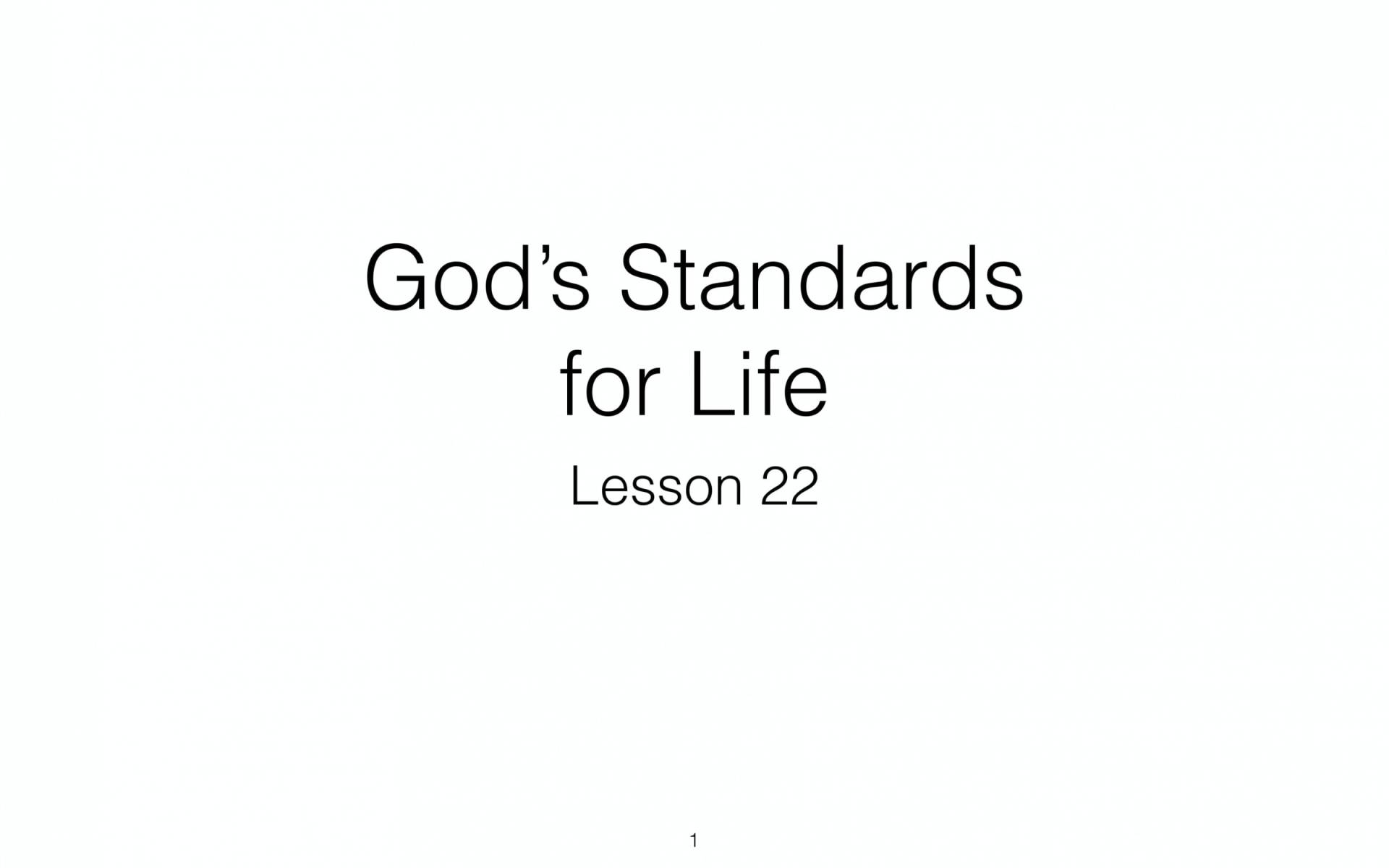 BC&D-54 - Lesson 22-1 - Trusting Changeless Truths About God-01