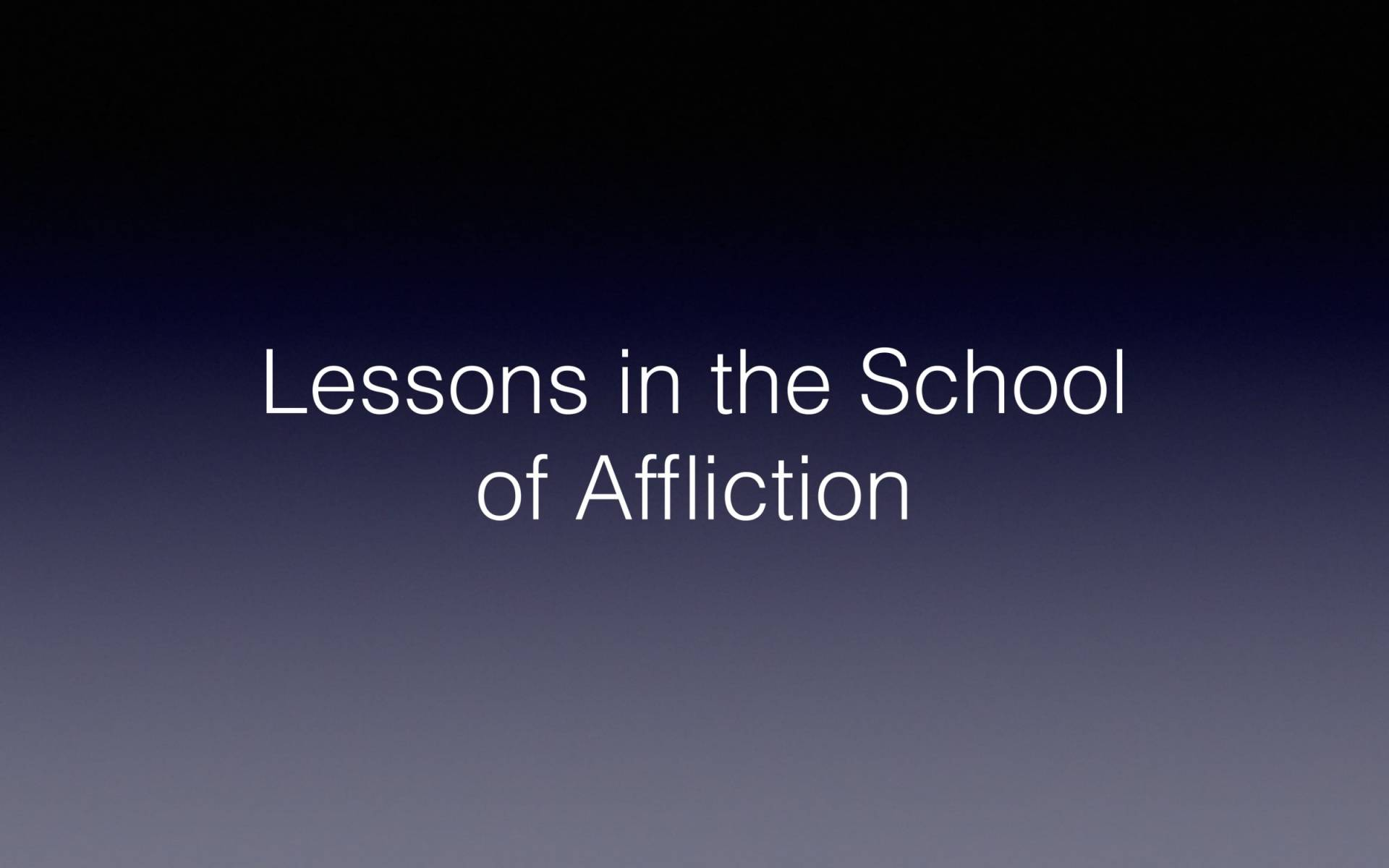 BC&D-56 - Lesson 22-3 - Understanding The Theology Of Suffering-16