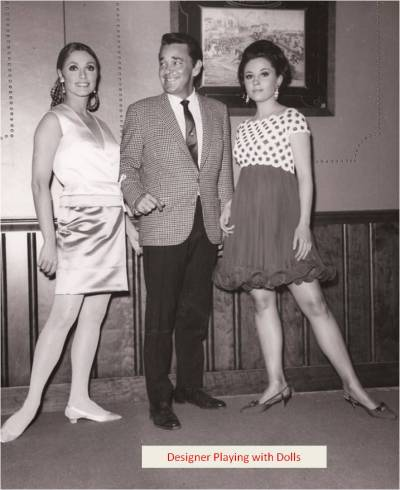 DOLLS - TRAVILLA, SHARON TATE, BARBARA PARKINS
