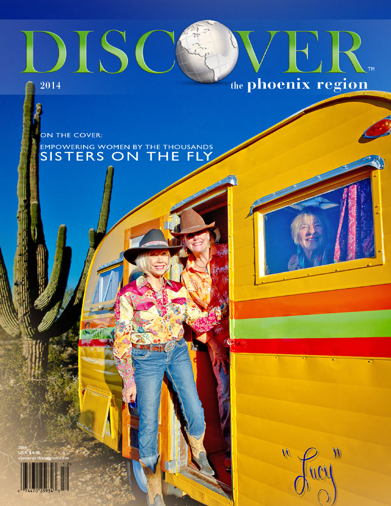 2014 Discover The Phoenix Region Cover