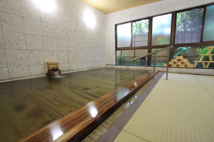 The Inn of Kousagi in Sekikawa village with tatami mats and ancient baths