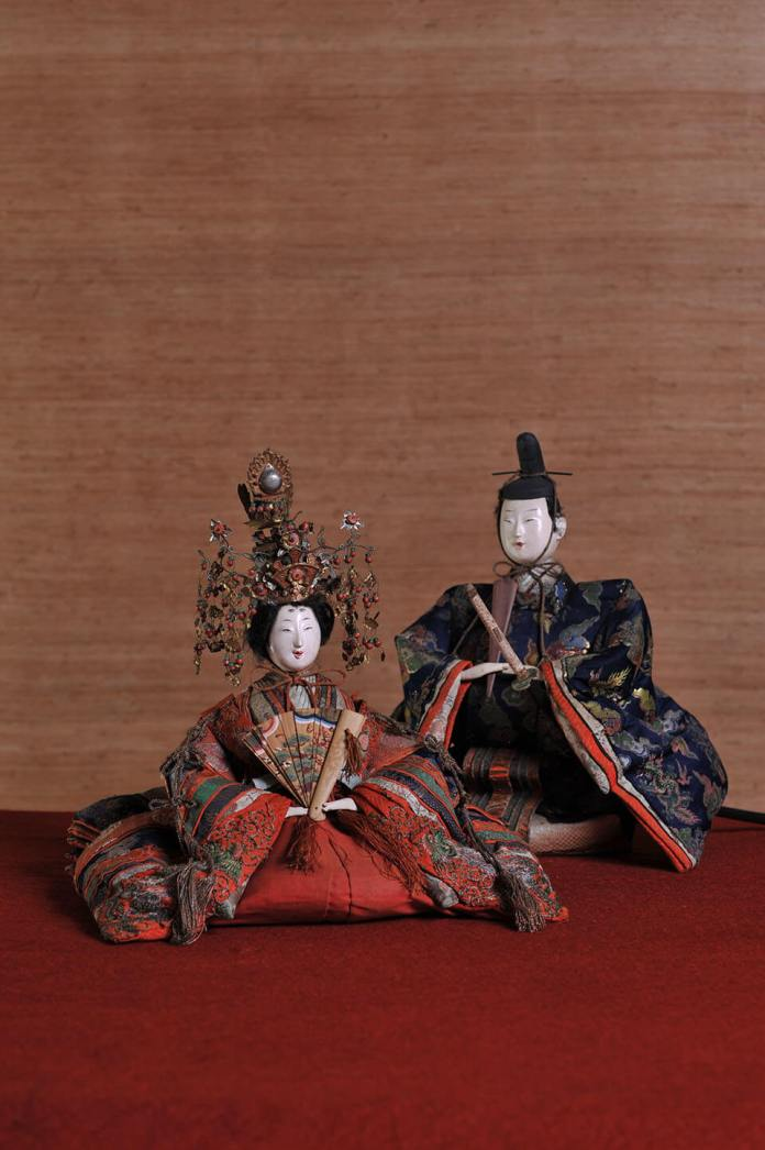 70 cm tall Takasago dolls and Edo and Meiji dolls in the 100-year-old former Shirahata residence
