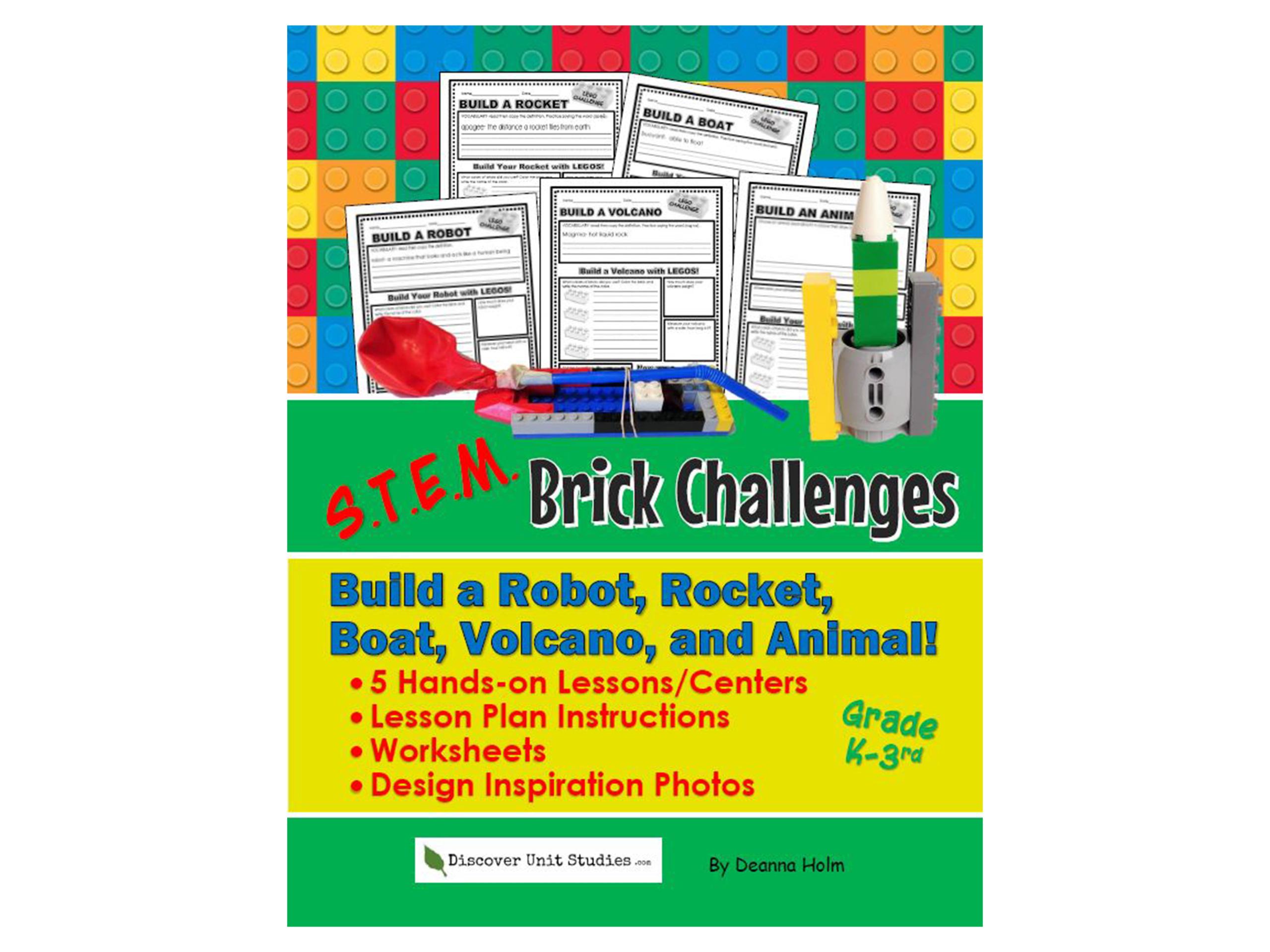 S T E M Brick Challenge Build A Robot Rocket Boat