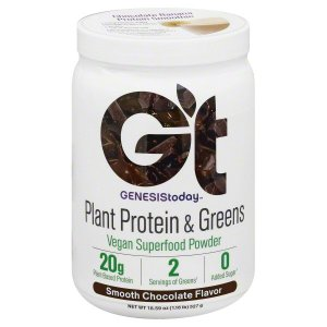 Genesis Today Plant Protein and Green Powder