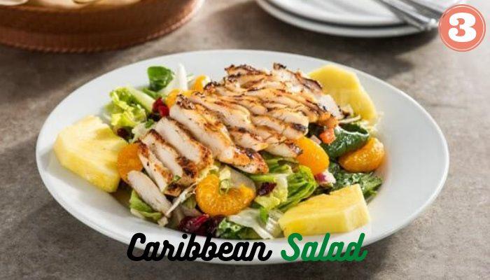 Vegan Caribbean Salad at Chilis