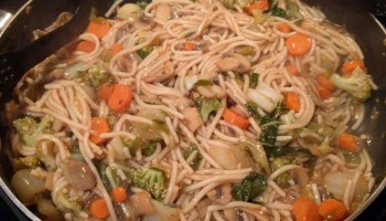 Chinese noodles in ginger garlic sauce recipe