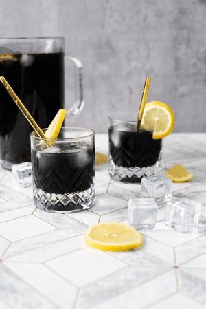 Sugar-Free Detox Charcoal Lemonade recipe