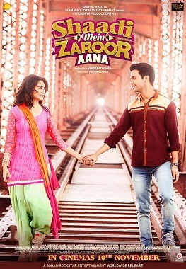 Shaadi Mein Zaroor Aana movie Review: Appreciation by the audience but mainstream reviewers killed it !