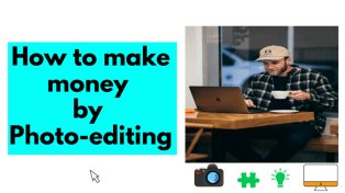 Earn money online from Photoshop & Photo editing