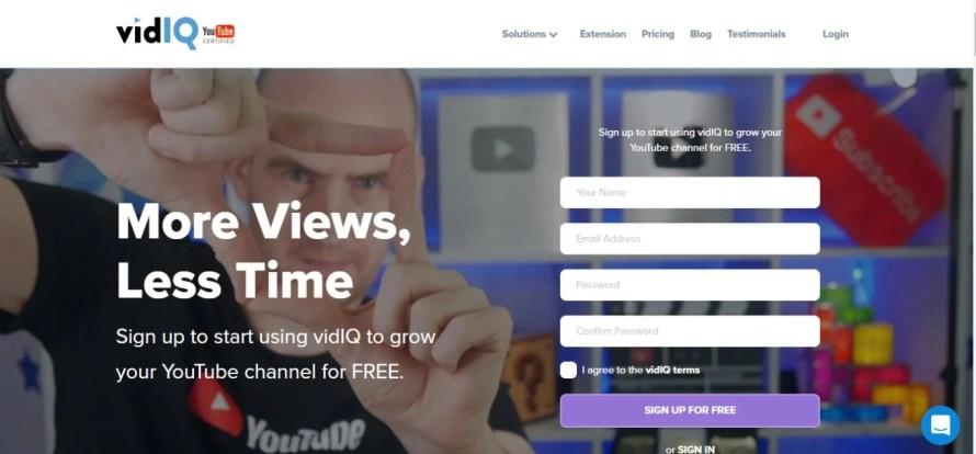 VidIQ for successful youtube channel
