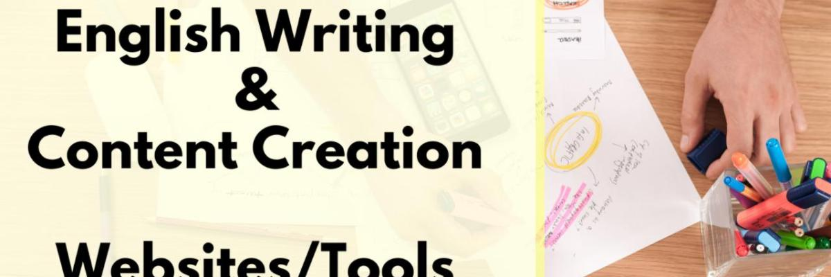 Websites and tools for English writing and content creation