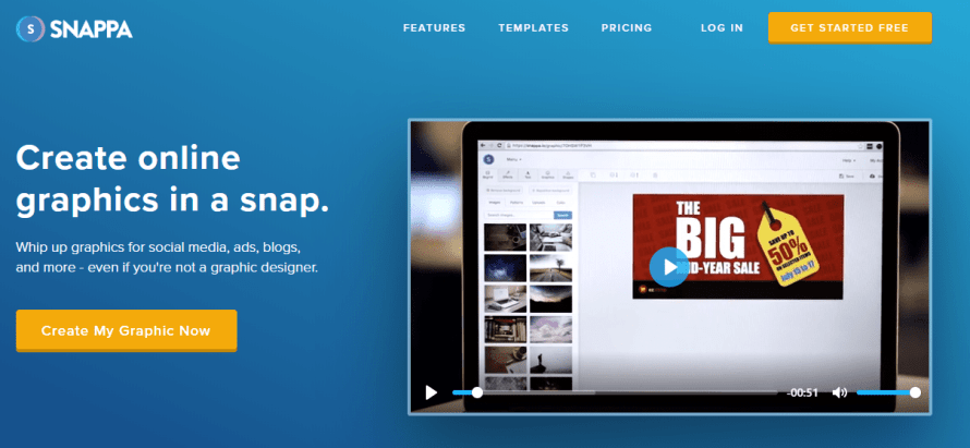 snappa - online youtube & blog thumbnail maker & generator