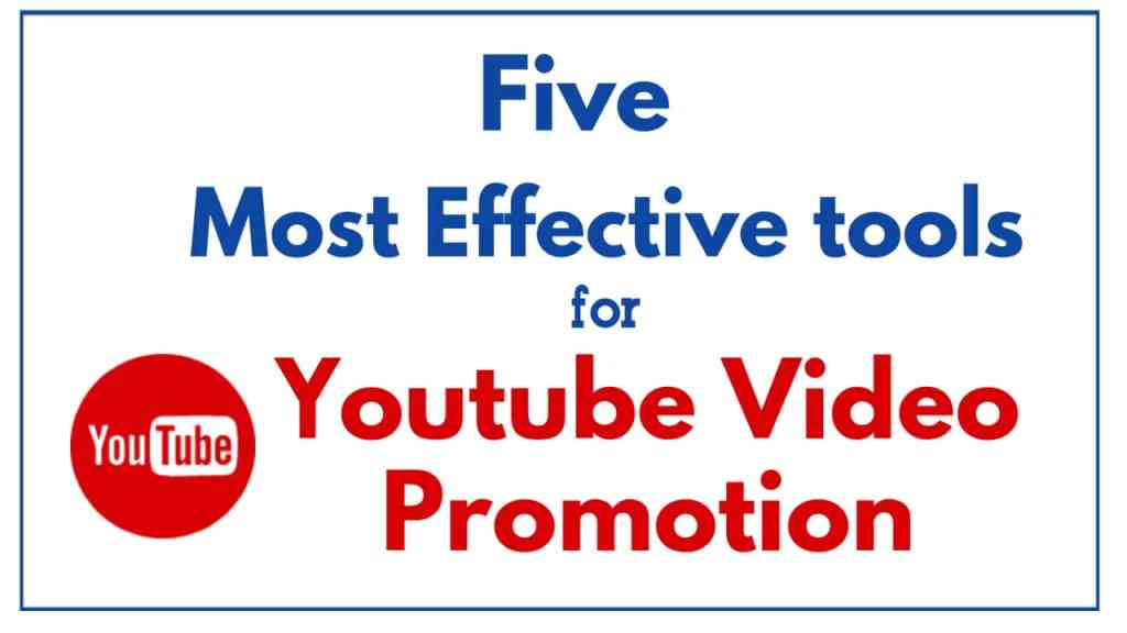 Youtube Video Promotion websites sites & services